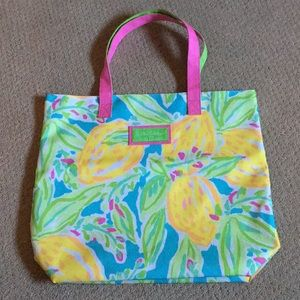 Nwot Lilly Pulitzer for Estée Lauder tote